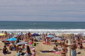 "Biarritz, 14 juillet 2012, 15:55 (extrait de Silence, dans ""Musardise"", d'Edmond Rostand)"