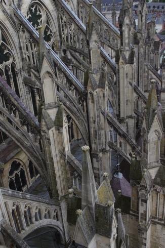 """La Cathédrale d'Amiens, Picardie, 12 juin 2012, 17:44 (extrait des """"Cathédrales de France"""" d'A. Rodin)"""