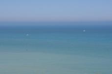 Depuis Varengeville, Pays de Caux, Normandie, 9 août 2012, 14:58