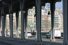 Paris (Pont de Bir-Hakeim), 12 mars 2014, 11:26