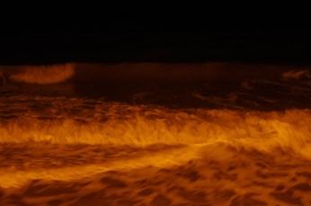 Depuis la plage de Blonville, 2 février 2014, 00:28