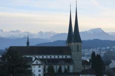 Lucerne, Suisse, 24 décembre 2014, 16:11