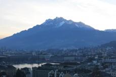 Lucerne, Suisse, 24 décembre 2014, 16:14
