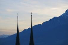 Lucerne, Suisse, 24 décembre 2014, 16:24