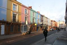 Portobello Street, Notting Hill, Londres, 29 janvier 2015, 8:19
